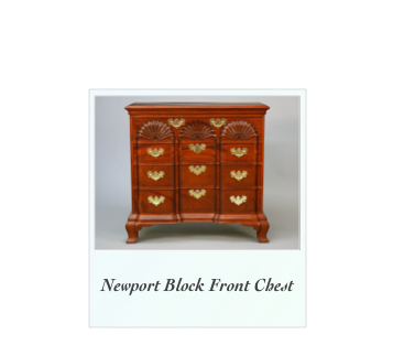 John Townsend Newport Block Front Chest Townsend Goddard Newport Reproduction Furniture Museum Quality Antique reproductions