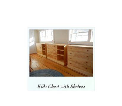 Kids Chest with Shelves, handmade chest, handcrafted chest, Kids Chest Nh, Vermont, NY, RI, Conn, NJ, Maine,