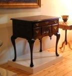 Queen Anne lowboy dressing table fine reproduction furniture