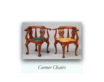 Chippendale Corner Chair Newport Roundabout Chair New England