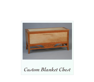 Handcrafted Blanket Chest