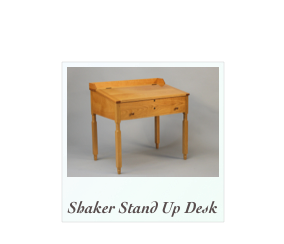 Cherry Stand Up Desk