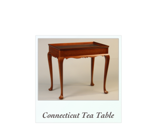 connecticut tea table