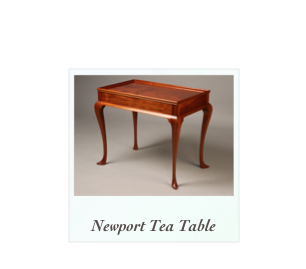 Queen Anne Tea Table Townsend Goddard