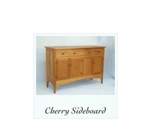 Custom Cherry Sideboard Shaker Sideboard Custom Mission Sideboard in solid cherry