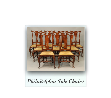 Queen Anne Side Chair Philadelphia Pennsylvania William Savery Reproductions