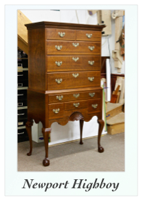 Newport High Chest Highboy