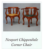 Newport Chippendale Corner Chair