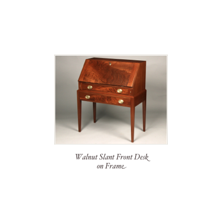 Shaker Desk Cherry Desk Solid Wood Desk Custom Desk Maker
