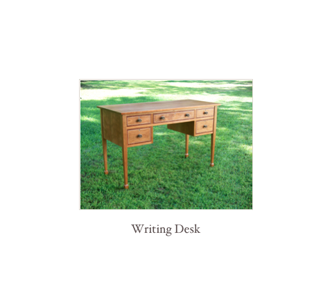 Custom Writing Desk, federal desk, handmade desk, 18th and 19th century