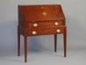Slant Top Desk handmade of solid mahogany
