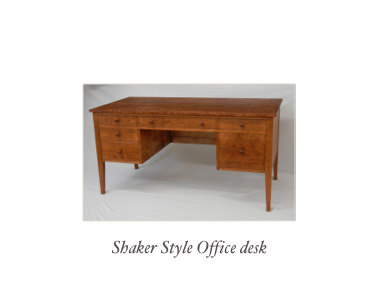 Shaker Style Office Desk