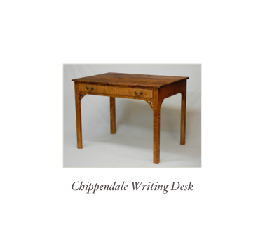 Writing desk handmade NH, NY, MAine, Mass, Virginia, CONN, RI
