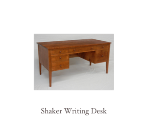 Cherry Sofa table, shaker sofa table, Shaker furniture, cherry furniture makers