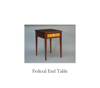 Custom Table Maker New England Table Handmade Fine Furniture NH Made In America