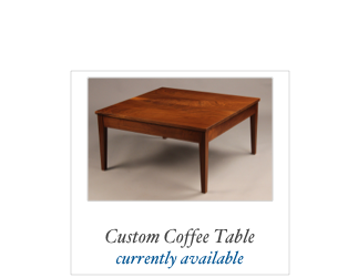 Custom Hall Table Custom Walnut Table Solid Walnut NH, Maine, Mass, NY, RI, COnn, MAryland, PA