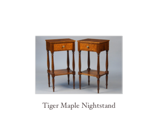 Mahogany Sofa table, reproduction colonial furniture makers, custom designed furniture