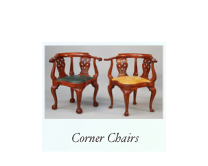 Handmade Corner Chairs