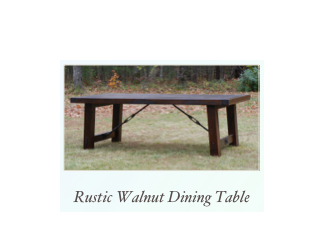 Handmade Rustic DIning Table