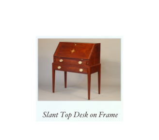 Handmade Desk on Frame