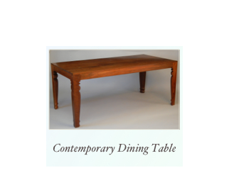 Handmade Contemporary Dining Table