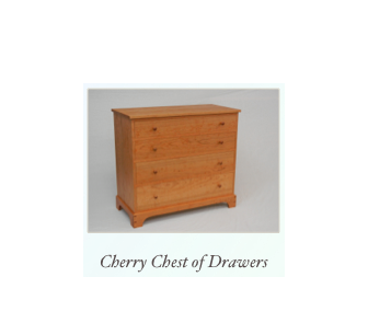 Handmade Cherry Chest of Drawers