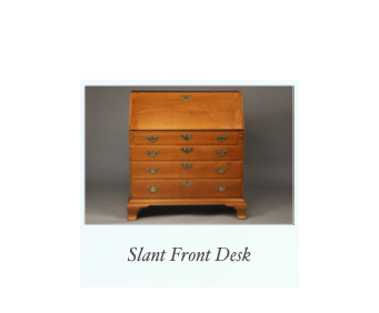 Handmade Shaker Slant top Desk