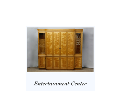 Handmade Entertainment Center