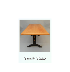 Handmade Trestle Table