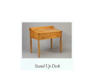 Handmade Stand Up Desk