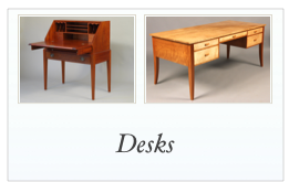 Custom Handmade Desks made in NH, Maine, Mass, NY, RI, VT