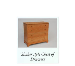 Shaker Cherry Chest of Drawers