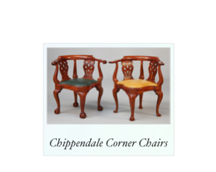 Reproduction Newport Corner Chairs