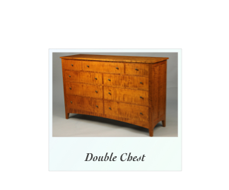 Custom Double Chest Of Drawers