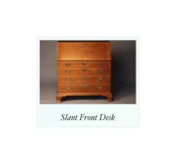 Reproduction Slant Front Desk