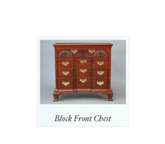 Reproduction Townsend Block Front Chest