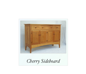 Cherry Sideboard handmade in America