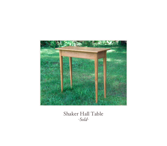 Tavern Table, custom shaker table, new england shaker furniture maker