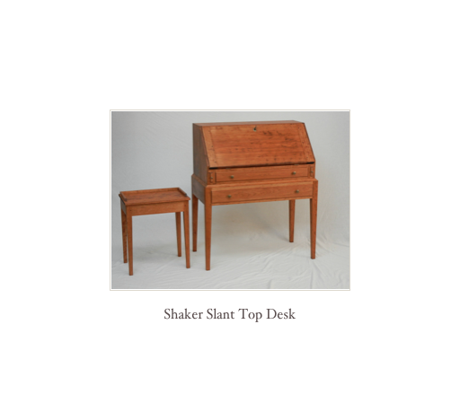 Shaker Hall Table, shaker furniture made in america, made in usa shaker furniture