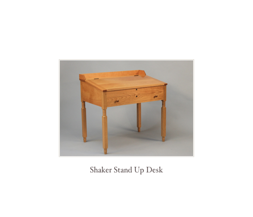 Shaker Desk, Shaker Slant Top Desk High End Custom Desks Best Desks