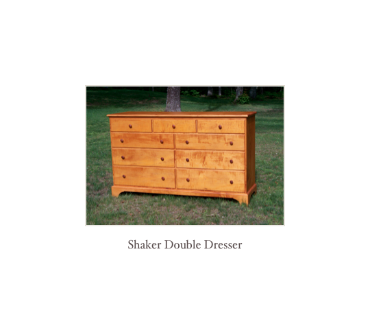 Shaker Chest in solid cherry, shaker furniture NH, Shaker Furniture makers