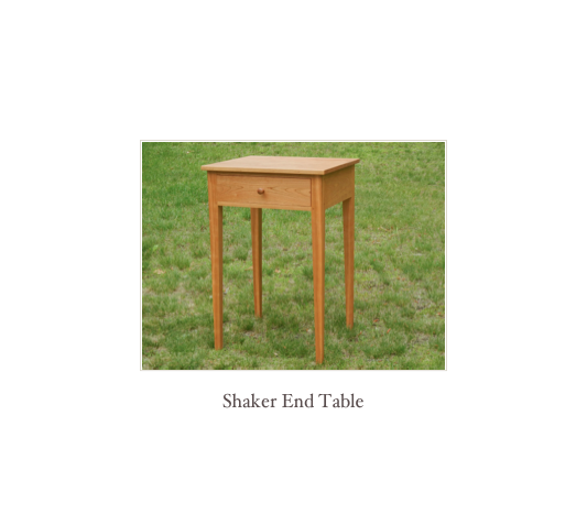 Shaker Double Dresser in Tiger Maple, Shaker Furniture Makers New England