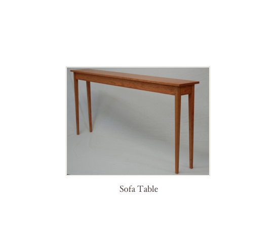 Shaker End Table, New England Shaker Furniture, Handmade in NH