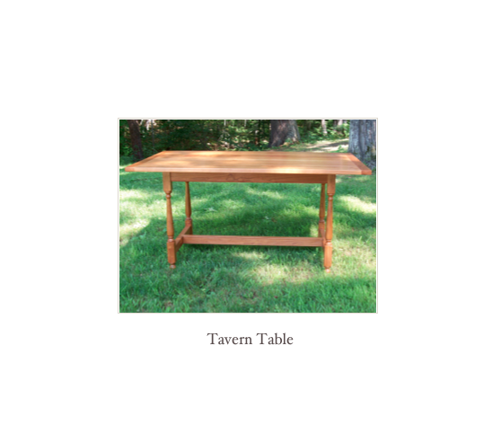 Sofa Table in Cherry, Shaker Furniture New England, Nh Shaker Furniture
