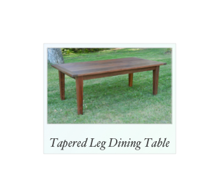 Farm Table With Cherry Top, traditional table, custom tables, Farm Table