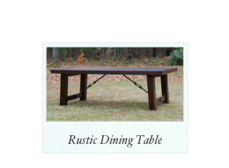 Farm Table with Pine Top, breadboard ends, custom made tables