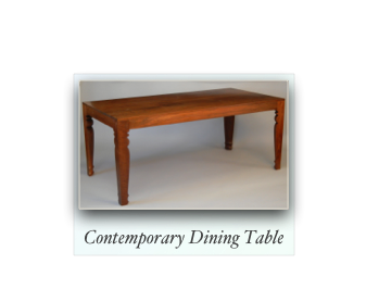 Tapered Leg Dining Table, Custom Dining Table, Walnut Dining Table, Colonial Dining Table